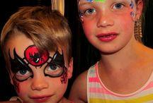 Kitty's kids face paint