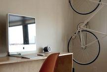 Interiors: bike place