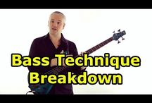 Technique For Bass Guitar - Talkingbass Lessons / These lessons are all about developing your technique on bass guitar