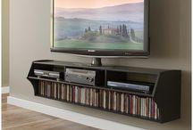 obývačka TV