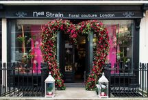 Valentine's Day by Neill Strain / Only the very best Red Naomi Roses from Holland at Neill Strain Floral Couture's The Flower Lounge along with other flowers that whisper romance and seduction.