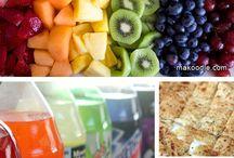 Regenboog  / Kleurrijk en gezond