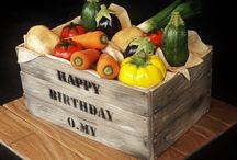 Vegetable Cake Ideas