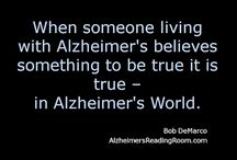Dementia/Alzheimer's Reminders / Dementia