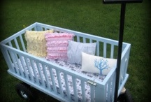 Upcycle Your Crib!  / A collection of ideas/crafts to upcycle your old crib(s).