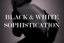 BLACK AND WHITE SOPHISTICATION / FROM CATWALK TO CLOSET, HERE'S HOW YOU NAIL THE BLACK AND WHITE TREND WITH WWW.MARILYNS-MUSE.COM