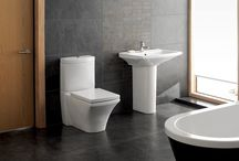 Serene Bathroom Suites / Beautiful bathroom suites to suit every taste, style and budget from Serene Bathrooms.   Choose from one of our fantastic bathroom suite collections or buy individually, it's up to you. We feature bathroom suites of all shapes, size and colours / by Serene Bathrooms