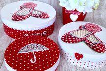 Cofanetti e beauty case / cofanetti creativi per accogliere i tuoi gioielli o i tuoi prodotti di bellezza