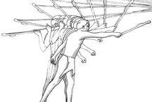 Bows, arrows, atlatl / Archaic hunting