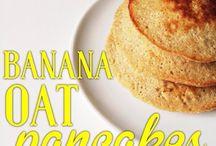 BLW Ideas / Banana Oat Pancakes