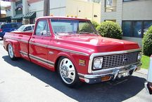 Classic chevy pickups