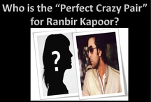 Ranbir's blind date / CAN YOU PLAY MATCH MAKER??? PRESENTING THE CRAZY CUPID POLL... Simply tell us who the 'perfect crazy match' for Ranbir Kapoor would be?