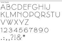 Caligrafía  y alfabetos / Imágenes o dibujos que utilizan la caligrafía y resultan interesantes o impactantes. / by Ana Navas