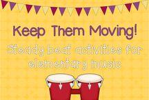 Teach music - steady beat