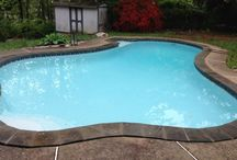 Pool Renovation Projects / Swimming pool renovation projects by Virginia-based Subcomm Pools. http://www.subcommpools.com/