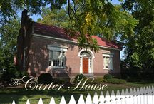 The Carter House / The Carter House, built in 1830, is well known for its role during the Battle of Franklin. The Carter House is open daily for tours. Visit and experience the rich history of this antebellum home and learn how the American Civil War forever changed the Carter family.