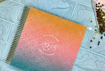 2018 Life Planner / Life is so much more than a to-do list. Increase your productivity, focus on healthy habits and live your life filled with happiness and gratitude. Your kitlife daily planner balances beauty and brains in a way no other life planner does.  #dailyplanner #lifeplanner #2018planner #planwithme #plannerreview