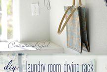 Washrooms/laundry