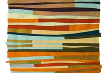 Modern Quilting / Abstract, colorful, great patterns and fabrics