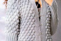 KNIT ...BOBBLES / knit