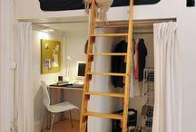 camas y muebles para pequeños espacios
