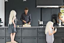 Streamlined and distinctive Scandinavian kitchen