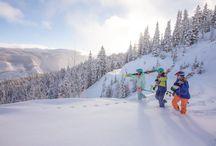 Molly Gibson Lodge - Ski Aspen / Fresh Powder and Bluebird Skies make for a perfect day at Aspen! #SkiAspen