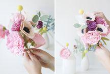 Flower-Made Felt