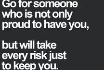 Quotes / Love and Life