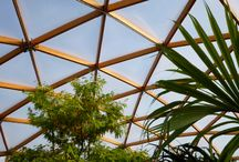Geodesic Domes / Design, engineering and realization of timber-framed geodesic domes in the Netherlands and abroad by Arc2 architecten GeoDomeDesign.