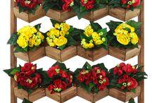 Ogrody wertykalne - kwietniki