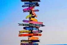 Places to go / The places I would love to go before I die
