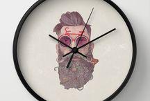 Great illustration clocks