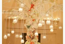 Backdrops and Light! / Beautiful backdrop and lighting ideas for wedding receptions.