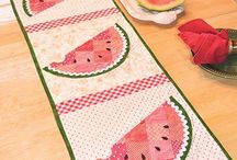 Mini quilts and decor