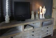 Tv meubel landelijk stoer