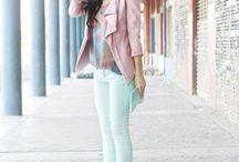 pastel look