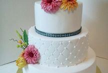 Мои работы. Свадебный торт
