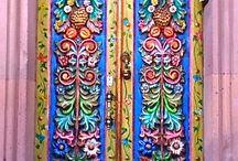 прикольные двери