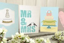 Bröllop / Wedding / Cards and Inspiration for the big day