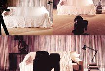 Scatti rubati in sala pose / Un divano moderno o un divano letto? Qualche scatto rubato in sala pose