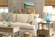Beach Style Dens/Living Rooms
