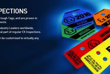 Custom & Personalised Tags / REGALTAGS® Tough Tags are in use Globally, by Industry Leaders, often in the harshest of environments. Weatherproof Tags, plain or bespoke Tags, highly visual and Durable Tags, are a crucial part of Workplace Safety and Company Procedures.