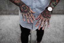 Kézfej tattoo