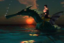 * Pics of Second Life