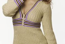 Crochet sweaters, shrugs and cardigans / I love making crochet sweaters, cardigans and shrugs.  / by bluemoon silverstars