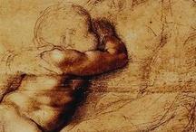 Michelangelo - рисунок