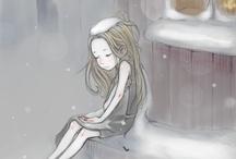 little match girl/ meisje met zwavelstokjes