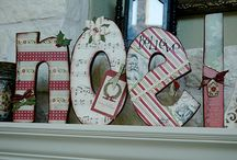 Christmas Crafts, Treats & Decorating Ideas / by Christine Baudier