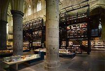 libraries & book stores
